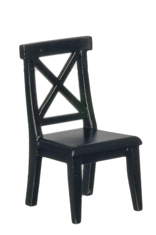 Mini Black Wooden Chair